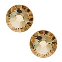 Swarovski Elements Crystal, Round Flatback Rhinestone SS40 8.5mm, 8 Pieces, Light Colorado Topaz