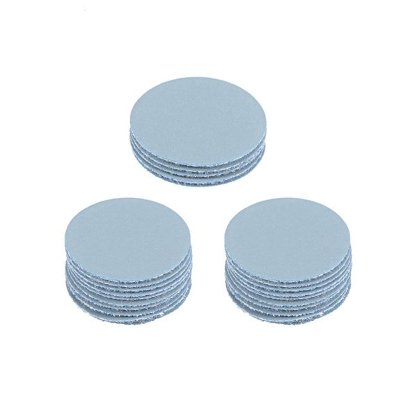 "2/"" dia Sanding discs Hook Loop Polishing SAIL abrasive 5000Grit 25pcs Durable"