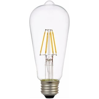 Sylvania 74323 Vintage LED Light Bulb, 4.5 W, 450 Lumens