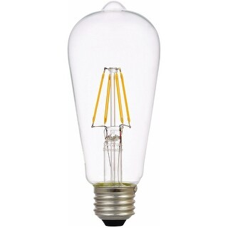 Sylvania 74323 Vintage LED Light Bulb, 4.5 W, 450 Lumens