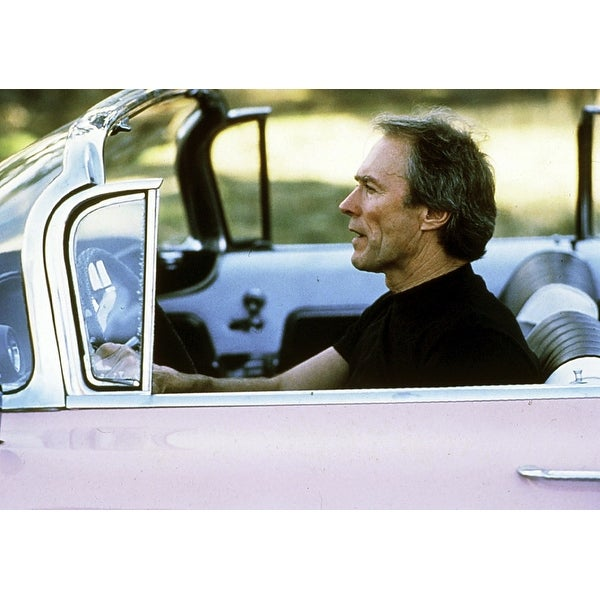 Shop Clint Eastwood Driving In Pink Cadillac Photo Print