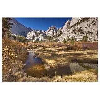 """Mount Whitney Trail, Sierra Nevada, California USA"" Poster Print"