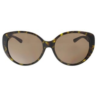 DKNY DY4124 301673 Brown Havana Round Sunglasses - brown havana - 57-17-140