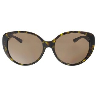DKNY DY4124 301673 Brown Havana Round Sunglasses - 57-17-140