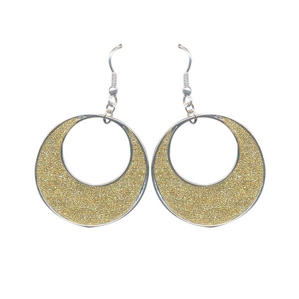 max & MO Sparkle Circle Earring