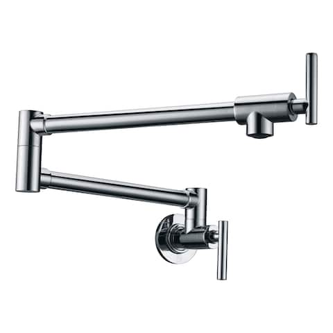 "ANZZI Braccia Series 24"" Wall Mounted Pot Filler"