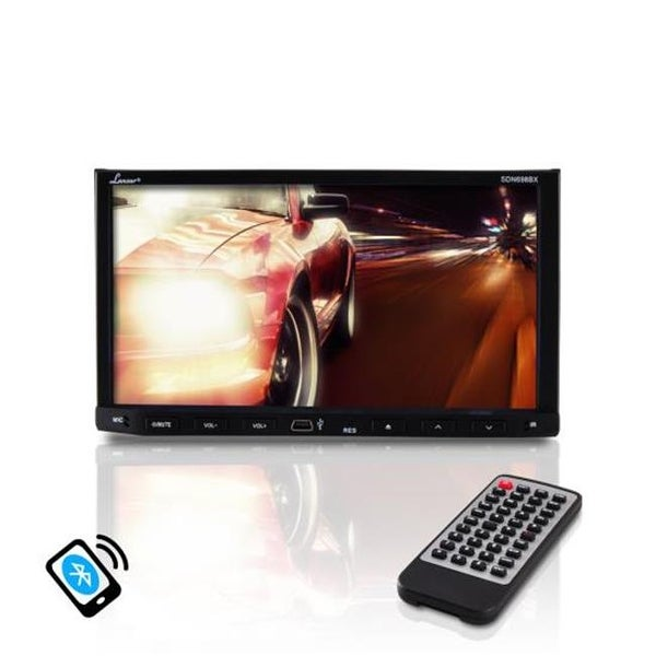 r 7 in. Video Headunit Receiver, Bluetooth Wireless Streaming