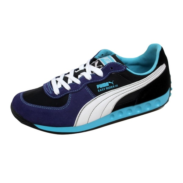 Puma Women's Easy Rider III 3 Black/Deep Wisteria-White-Blue Mist 347971 08