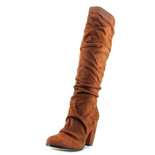 Michael Antonio Musick   Round Toe Synthetic  Knee High Boot