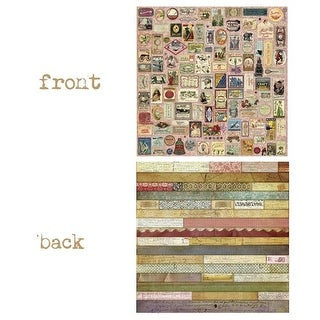 Canvas 12 x 12 in. Go & Be Ordre Du Jour 2 Sided Cardstock Paper