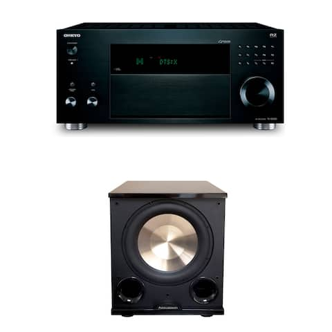 Onkyo TX-NR686 7.2 Channel THX Certified Network A/V Receiver with PL-200 II Subwoofer