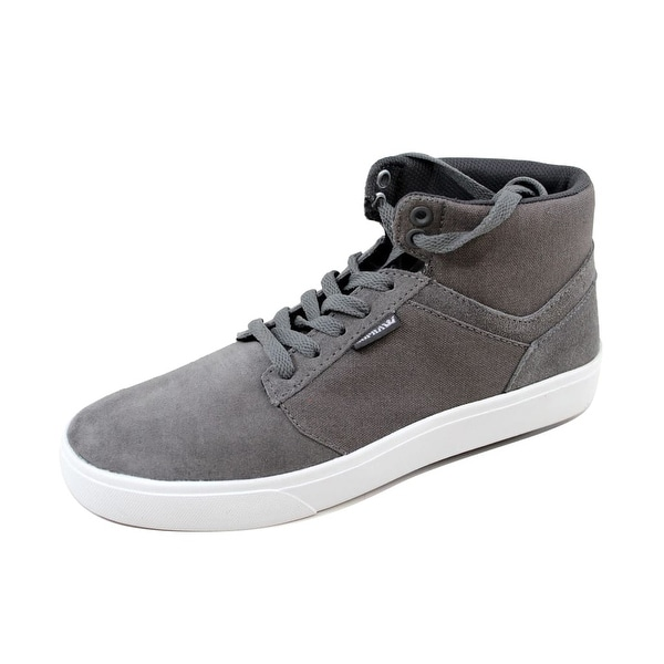 Supra Men's Yorek Hi Black/Aluminum-Black S83501 Size 8