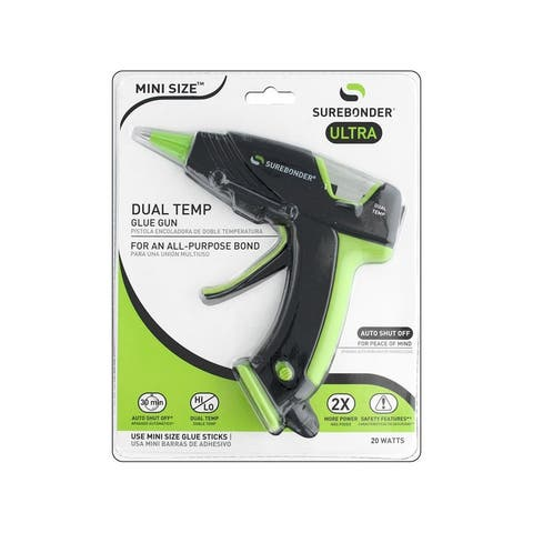Dt-320f surebonder glue gun mini dual temp auto off 20watt