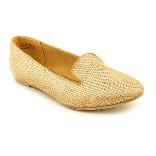 Chinese Laundry Tic Tac Women Round Toe Canvas Flats