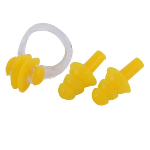 Swimming Water Sports Silicone Nose Clip Ear Protector Plugs Earplugs Set