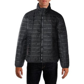 Tommy Hilfiger Mens Jacket Platinum Insulator Quilted