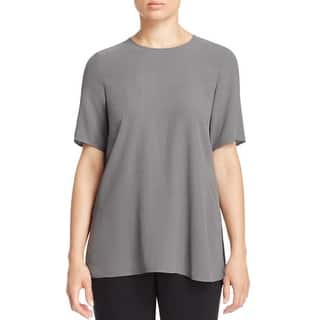 Eileen Fisher Womens Petites Casual Top Silk Boxy|https://ak1.ostkcdn.com/images/products/is/images/direct/51013827d7ea747a32280f3f54db0c2ad79c2b3c/Eileen-Fisher-Womens-Petites-Casual-Top-Silk-Boxy.jpg?impolicy=medium