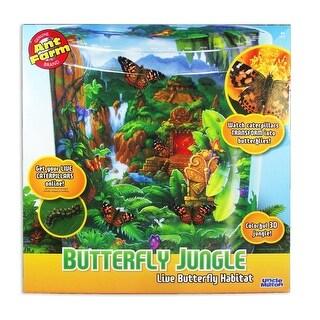 Butterfly Jungle Live Butterfly Habitat by Uncle Milton