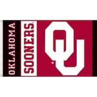 University of Oklahoma Sooners Logo Flag