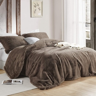 Link to Chunky Bunny - Coma Inducer Oversized Comforter - Velveteen Brown Similar Items in Comforter Sets