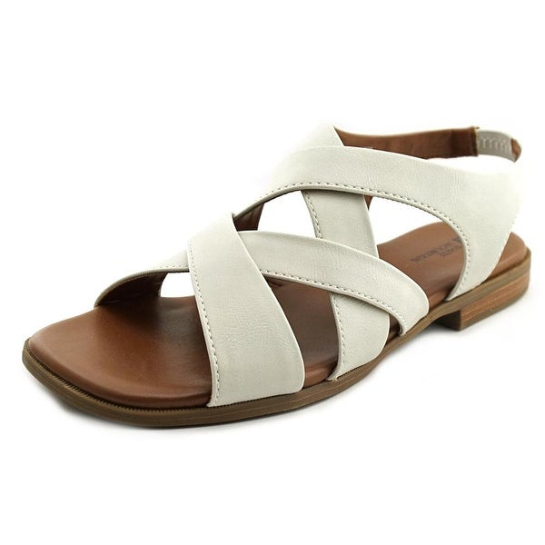 White Mountain Chef Open-Toe Synthetic Slingback Sandal
