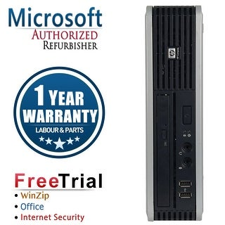 Refurbished HP Compaq DC7900 Ultra Small Form Factor Core 2 Duo E8400 3.0G 4G DDR2 80G WIN 7 PRO 64 1 Year Warranty - Silver
