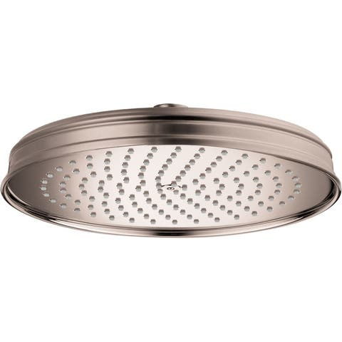 Axor 28374 Montreux 1.8 (GPM) Single Function Rain Shower Head -