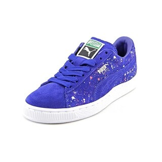 Puma Suede Classic Splattered F Round Toe Suede Sneakers