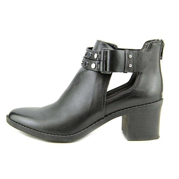 Bar III Womens Wiley Almond Toe Ankle Fashion Boots