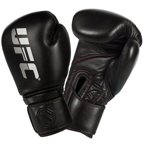 UFC Professional Hook and Loop Sparring Boxing Gloves - bag mma heavy training
