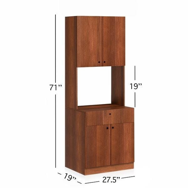 Living Skog Scandi Microwave/ Kitchen Storage Cabinet