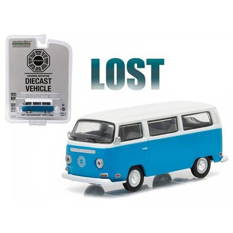 1971 Volkswagen Type 2 Bus (T2B) Lost TV Series (2004-2010) 1/64 Diecast Model by Greenlight