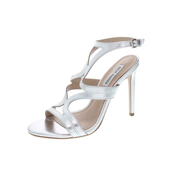 5247137daee Shop Steve Madden Womens Sidney Dress Sandals Padded Insole Stiletto ...