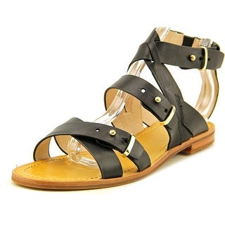 French Connection Harmoney Open Toe Leather Gladiator Sandal