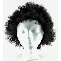 Warriors Afro Costume Wig Adult One Size - Black