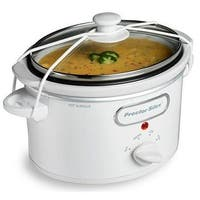Proctor 33116 WHT 1.5 Quart Slow Cooker