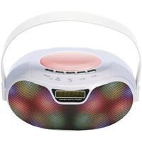 Supersonic(R) SC-1446BT - WHT Bluetooth(R) Portable Rechargeable Speaker (White)