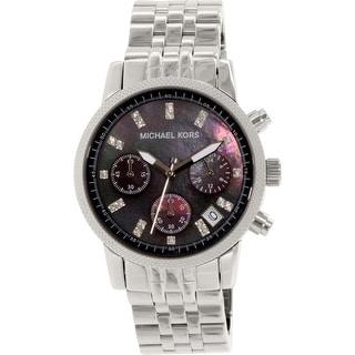 Michael Kors Women\u0027s MK5021 Silver Stainless-Steel Quartz Dress Watch