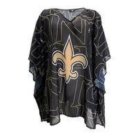 New Orleans Saints Team Caftan Trace