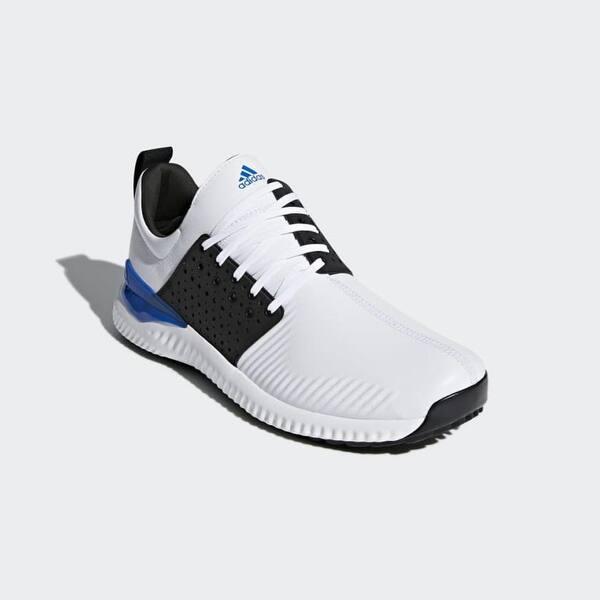 pedir sueño sobrino  Shop Men's Adidas Adicross Bounce Cloud White/Black Golf Shoes F33752 -  Overstock - 31143160