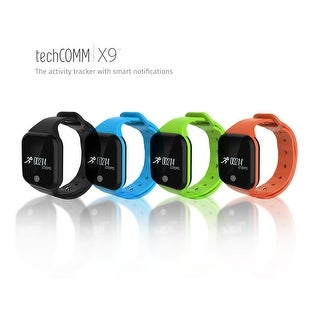 TechComm X5S Water-Resistant Fitness Bracelet Heart Rate Sleep Monitor (5 options available)
