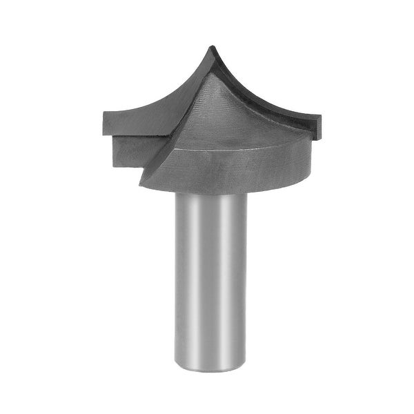 Router Bit 1/2 Shank 1-1/2 inch Dia Tapered End Mill for Woodworking