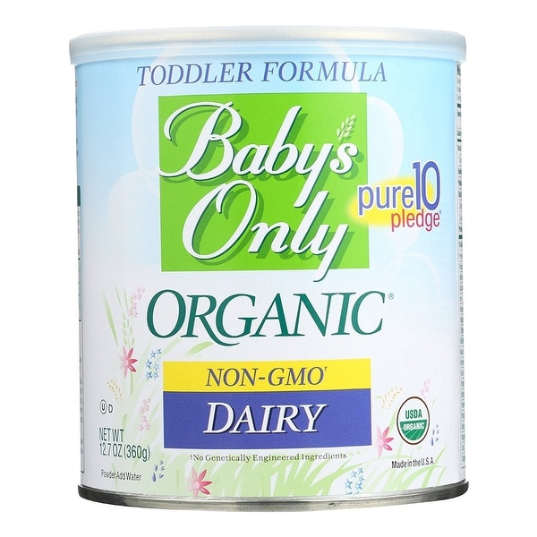 Baby's Only Organic Toddler Formula 12.7 Ounce (Pack of 6)