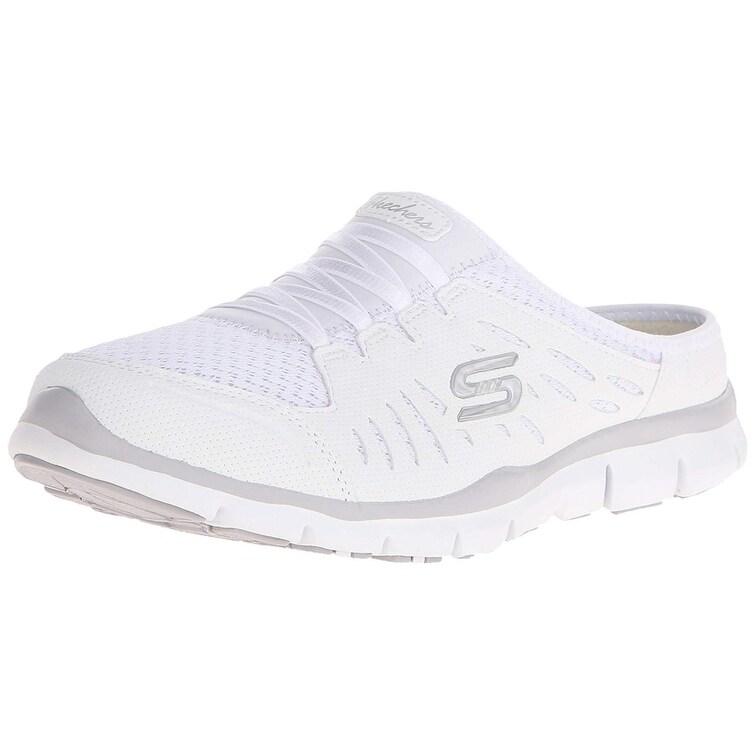Skechers Sport Women's Gratis No Limits Fashion Sneaker,White,9 M Us