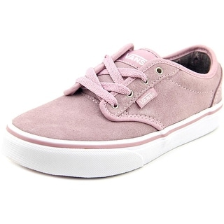 Vans Atwood Youth Round Toe Suede Pink Sneakers
