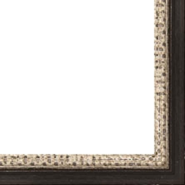 Picture Frame Fillet (Wood) - Traditional Silver Finish