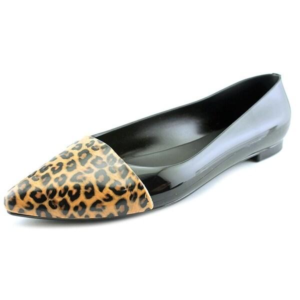 Cape Robbin Belita Women Pointed Toe Synthetic Black Flats