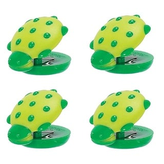 Green Turtle Magnetic Mini Chip Clips Kitchen Tool Animal House Set of 4