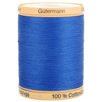 Natural Cotton Thread Solids 876Yd-Royal Blue