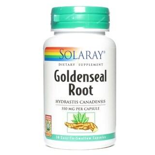 Solaray - Goldenseal Root Extract, Veg Cap (Btl-Plastic) 550mg 50ct